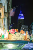 Empire State Building and Macy's store. Royalty Free Stock Photos