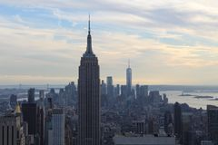 Empire State Building Manhattan obrazy royalty free