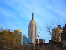 Empire State Building, Manhattan, New York City Photographie stock libre de droits