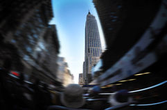 Empire State Building in Manhattan New York City Stock Photo