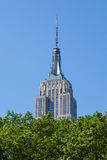 Empire State Building in Manhattan in New York City Stock Image
