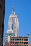 Empire State Building in Manhattan New York City. USA Royalty Free Stock Photography