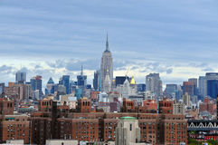 Empire State Building in Manhattan New York Stock Photo