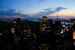 Empire State Building, Manhattan, NYC Royalty Free Stock Photography