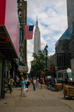 Empire State Building, Manhattan, NYC. Royalty Free Stock Photography