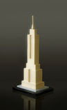 Empire State Building model Stock Image