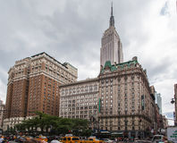 Empire State Building New York Stock Photo