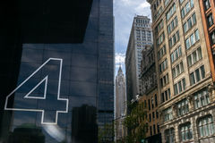 Empire State Building in New York Lizenzfreies Stockfoto