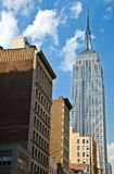 Empire State Building in New York City Royalty Free Stock Images