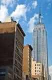 Empire State Building a New York City immagini stock libere da diritti