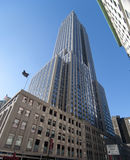 Empire state building in new york city. A shot of the empire state building in new york city Royalty Free Stock Photo