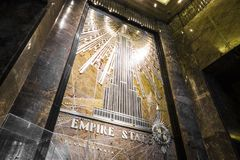 Empire State Building, New York City stock photo