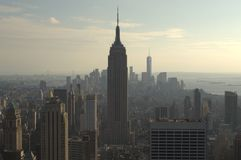Empire State Building. New York City Empire State Building, September 2014 Stock Photos