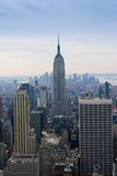 Empire State Building New York, Etats-Unis Images libres de droits