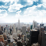 Empire State Building, New York (Manhattan, U.S.A.) immagini stock