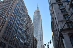 Empire State Building New York, NY Arkivbilder