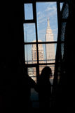 Empire State Building From The New Yorker Hotel, Manhattan Royalty Free Stock Photography