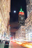 Empire State Building night view Royalty Free Stock Photo