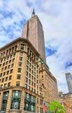 Empire State Building, o mais alto no mundo que constrói desde 1931 até 1970 Foto de Stock Royalty Free