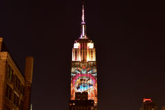 Empire State Building - Racing Extinction Stock Image