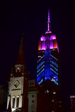 Empire State Building - Racing Extinction Royalty Free Stock Photography