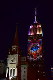 Empire State Building - Racing Extinction Stock Photography