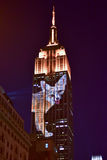 Empire State Building - Racing Extinction Royalty Free Stock Photos