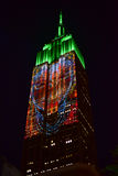 Empire State Building - Racing Extinction Stock Photo