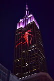 Empire State Building - Racing Extinction Royalty Free Stock Images