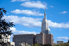 The Empire State Building shines in the afternoon New York City Royalty Free Stock Photos