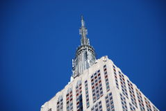 Empire State building Spire. Empire State Building Antenna Spire Royalty Free Stock Photo