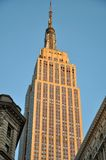 Empire State Building at sunset Stock Photography
