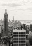 Empire State Building from the Top of the Rock Stock Images
