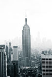 Empire State Building. In two colors Royalty Free Stock Images