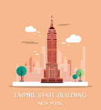 Empire State Building.Vector Illustration. Empire State Building.Vector Illustration royalty free illustration
