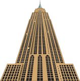Empire State Building Vector Illustration. A vector illustration of the Empire State Building in New York vector illustration