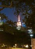 Empire State Building imagens de stock