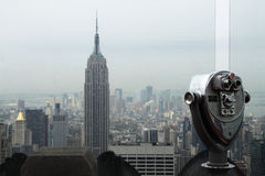 Empire State Bulding stock image