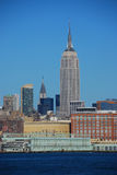Empire State and Chrysler Buildings Royalty Free Stock Image
