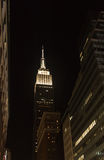 Empire State en la noche Imagen de archivo