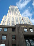 Empire State. Famous and iconic high-rise tower in the city of New York royalty free stock images
