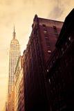 Empire State, Nueva York Fotografía de archivo libre de regalías