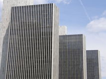 Empire State Plaza in Albany. New York royalty free stock photo