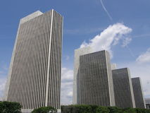 Empire State Plaza in Albany. New York Royalty Free Stock Photography