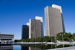 Empire State Plaza Albany New York Stock Photos