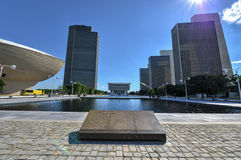 Empire State Plaza in Albany, New York Stock Photography