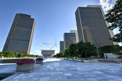 Empire State Plaza in Albany, New York Royalty Free Stock Photo