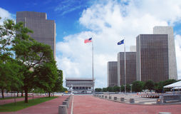 Empire State Plaza in Albany, New York state capital Stock Photography