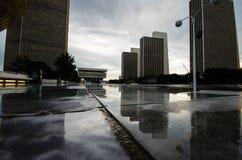 Empire State Plaza, Albany, NY. royalty free stock photography