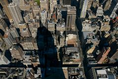 Empire State Shadow stock photography